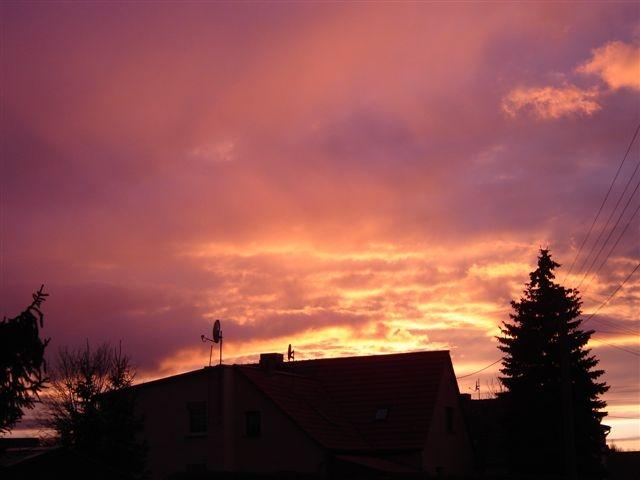 Der Himmel kann auch pink