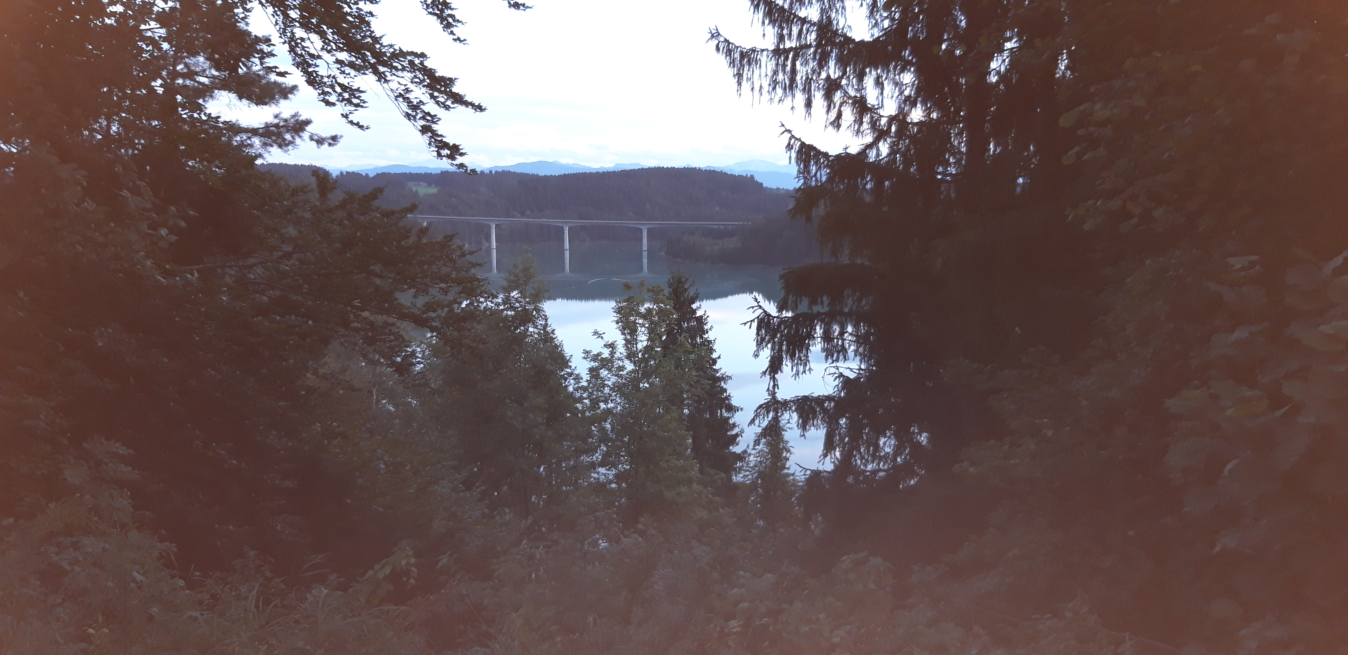 Blick auf die Lechbrücke