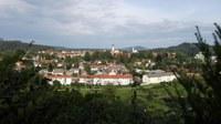 Blick von Schongau West auf die Innenstadt