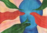Acrylfarben, inspiriert von einer Youtuberin