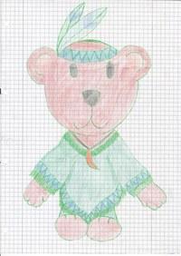 Dieser Teddybär ist während des Studiums entstanden.