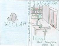 Im Deutschunterricht hatten wir den Auftrag zu Faust ein Buchcover zu entwerfen.