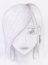 Dieses Manga-Portrait ist in der Uni entstanden. Manche Vorlesungen sind einfach nur zum Einschlafen...