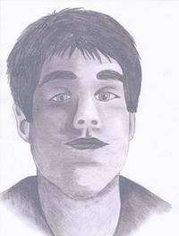 ein Bild, wo viel Mühe und Arbeit drin steckt. Gezeichnet in Bleistift. Die Person möchte anonym bleiben.