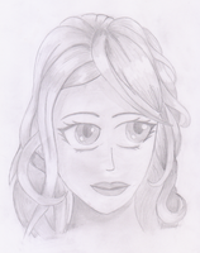 En bisschen hat mich das Manga-Portrait-Fieber gepackt...