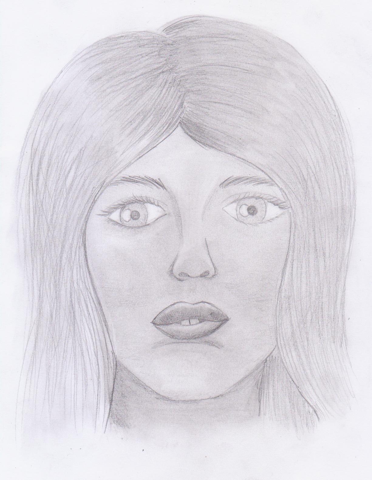 Und wieder mal ein Versuch eines Portraits, diesmal frontal