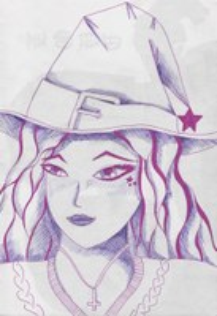 Fineliner in meinem Sketchheft