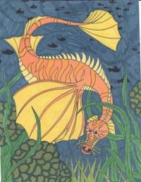 Dieses Bild habe ich Lyra Aqua Brushes gemalt