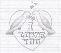 Skizze mit Bleistift