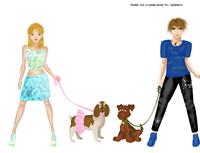 Altes Bild, definitiv vor Juli 2014 - Puppen nicht von mir