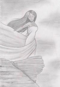 Bleistiftzeichnung aus meinem Sketchheft