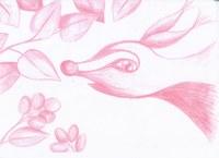 Zeichnung mit Kopierstiften